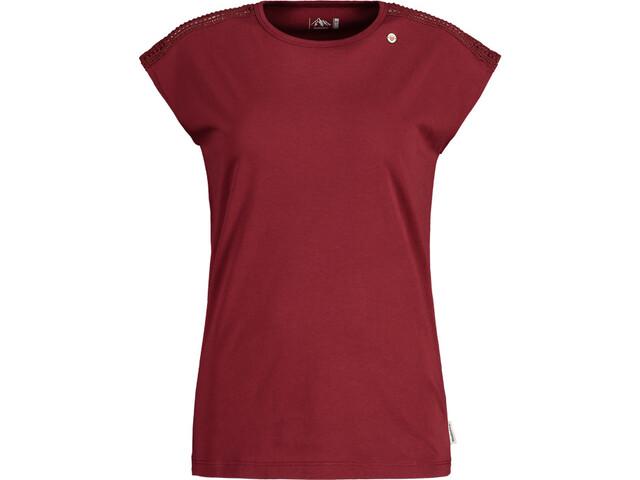Maloja MelagoM. T-Shirt Women, red monk